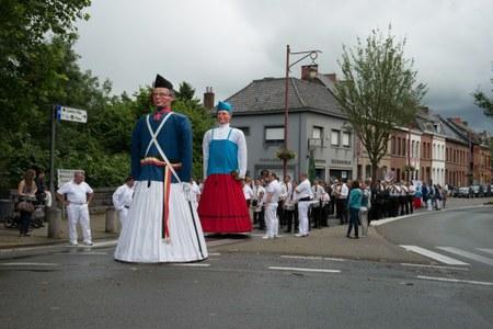 La Ducasse du Canon - Le cortège en quelques photos