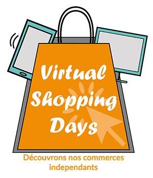 Logo virtual shopping days