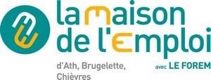 logo la maison de l'emploi d'Ath, Brugelette, Chièvres