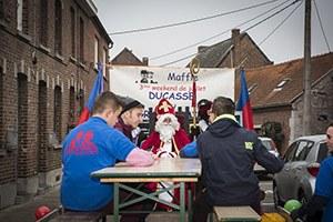 Saint-Nicolas dans les rues de Maffle