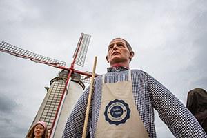 Le baptême de Prosper à Ostiches