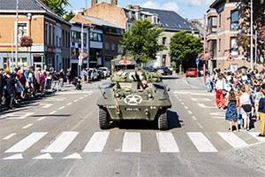 75 ans de la Libération : 70 véhicules se sont arrêtés à Ath