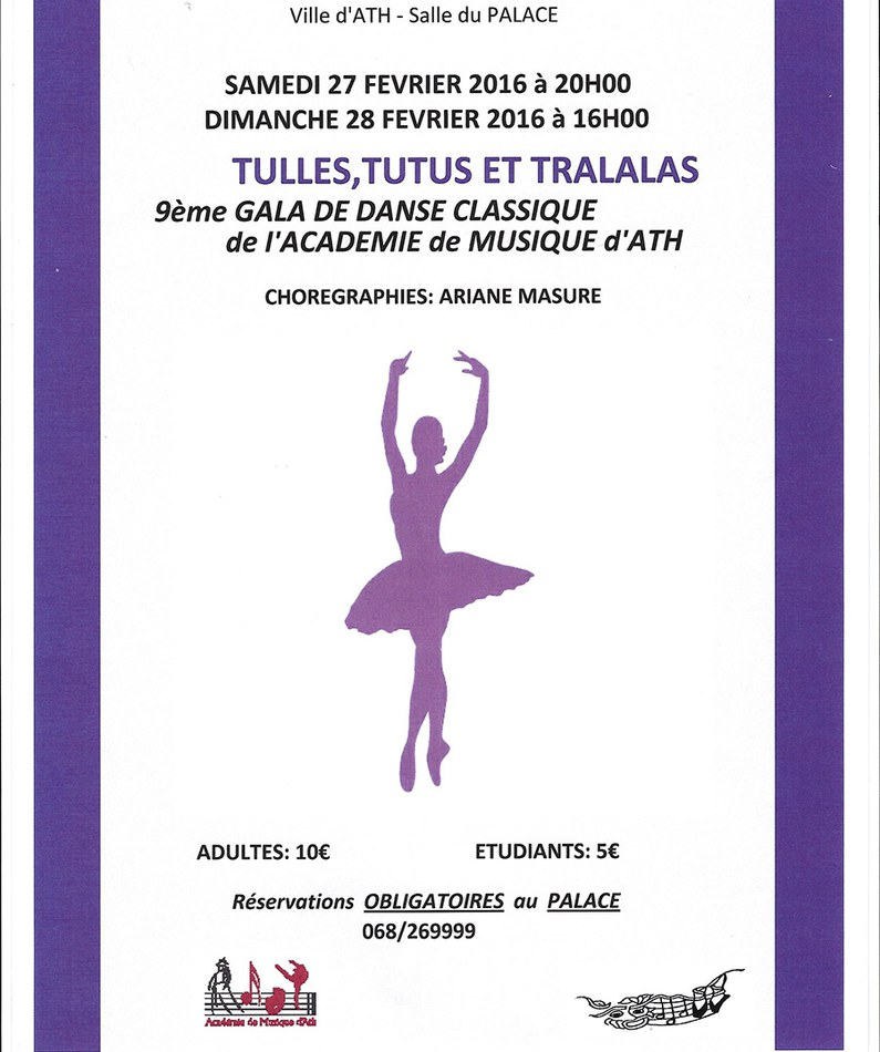 affiche gala danse adm