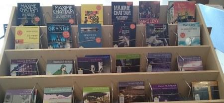 Livres audio à la bibliothèque
