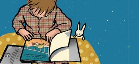 Un doudou, un livre et au lit!