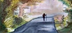 """Exposition """"Pastels du chemin"""" de Marie-Christine Dochy"""