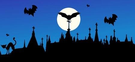 Après-midi jeux sur le thème d'halloween