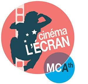 "logo du cinéma d'Ath ""L'écran"""