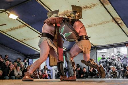 Réussite pour la première fête romaine