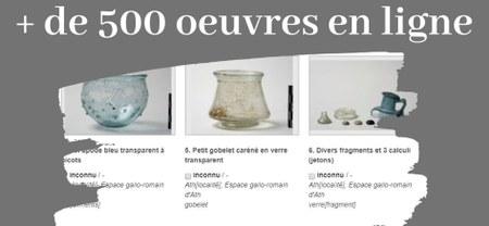 Mise en ligne des collections de l'Espace gallo-romain