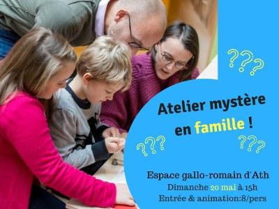 Atelier mystère en famille