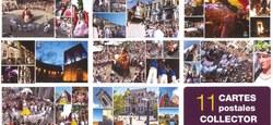 11 cartes postales collector
