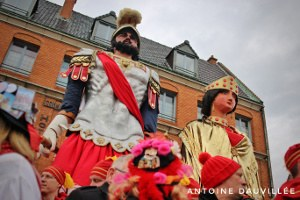 Le carnaval d'été à Cassel par Antoine Dauvillée