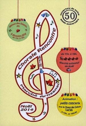 Chorale rencontre, marché de Noël