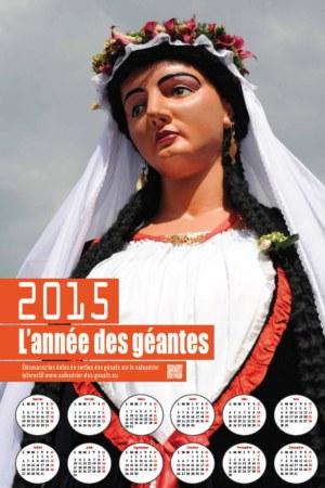 Calendrier Madame2015