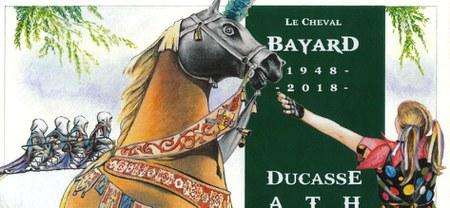 Un timbre à l'effigie du Cheval Bayard