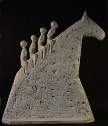 Le Cheval Bayard par l'artiste John Bulteel