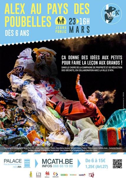 Affiche alex au pays des poubelles 2k19
