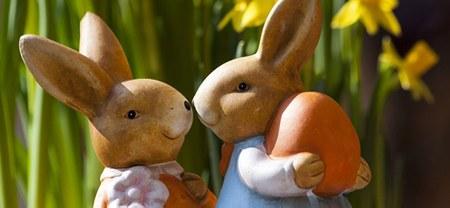 Les œufs enfouis dans le jardin enchanté