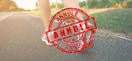 Marche Adeps - Annulé