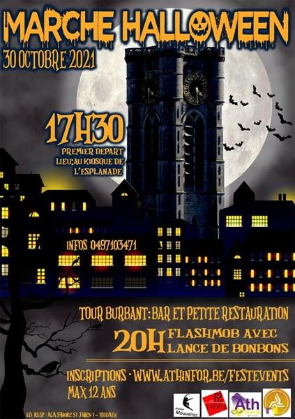 Affiche marche halloween 2021
