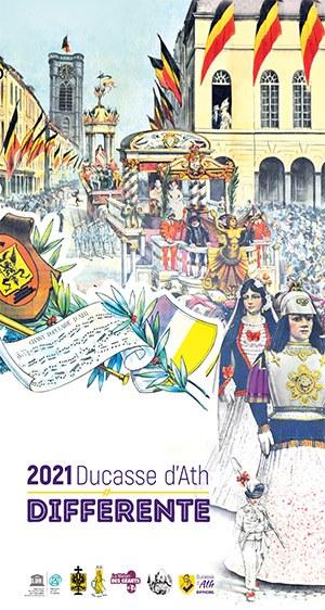 affiche 2021 ducasse d'ath