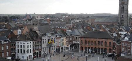 Ath, vue des toits