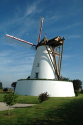 Le Blanc Moulin à Ostiches