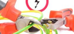 Coupure d'électricité à Bouvignies