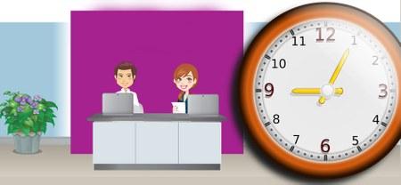 Services communaux : horaire adapté durant les vacances