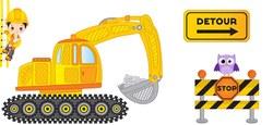 Deux chantiers avec déviations pour la N7 (reporté !)