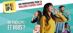 Get up Wallonia : vos propositions pour la Wallonie d'après Covid