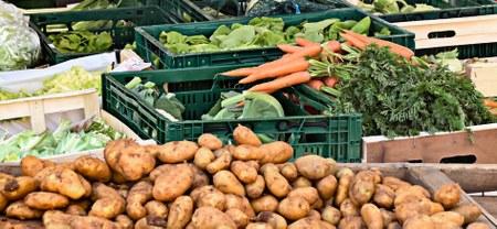 Le marché « produits d'alimentation » rouvre ce jeudi  21 mai … Découvrez le plan