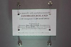 Ré-ouverture de la salle Georges Roland