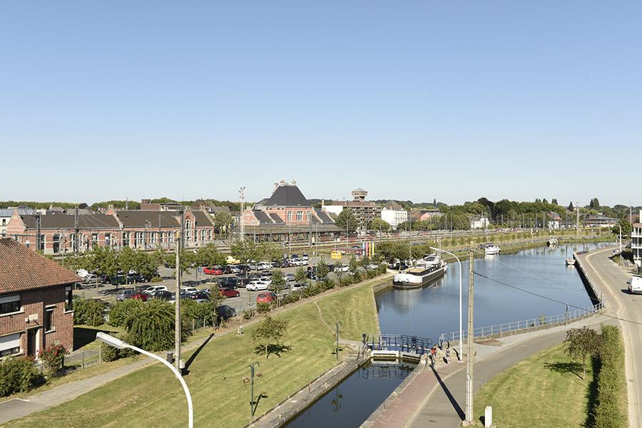 Ath vue du ciel site officiel de la ville d 39 ath for Photo vue du ciel de ma maison