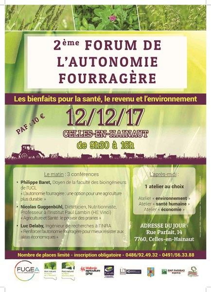 Affiche automne fouragere