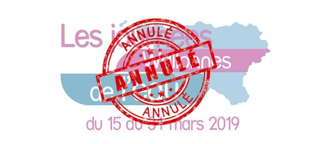 Journées Wallonnes de l'Eau - Annulées