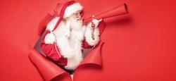 Père Noël est un Géant n'a pas le Covid !