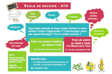 affiche officielle de l'école des devoirs