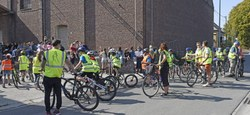 Plus de 100 élèves ont reçu leur brevet cycliste dans le cadre de la semaine de la mobilité