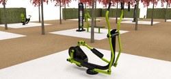 Des éléments de fitness et de street workout à l'Esplanade