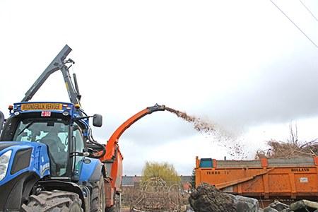 broyage bois tracteur